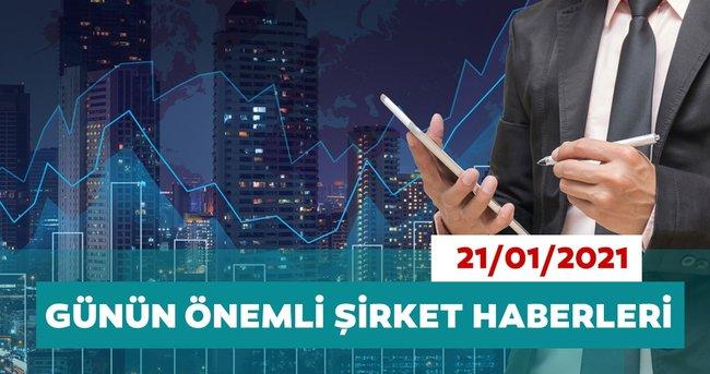 Borsa İstanbul'da günün öne çıkan şirket haberleri ve tavsiyeleri 21/01/2021