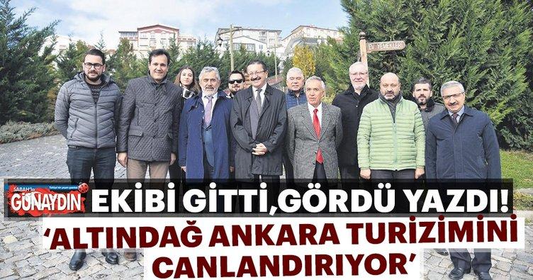 Altındağ Ankara turizmini canlandırıyor