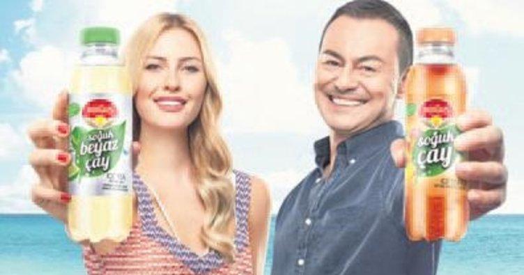 Karı-koca aynı reklam filminde