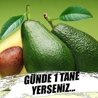 Her gün 1 avokado tüketmenin sağlığa faydası