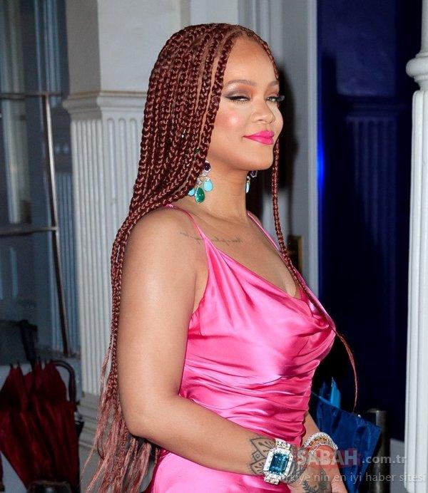 Rihanna 3 saat bekletti ama...  Rihanna'nın gelişi olay oldu!