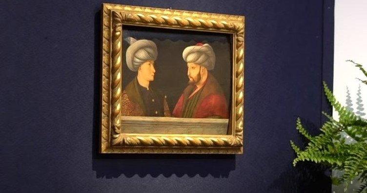 Son dakika: Fatih Sultan Mehmet'in portresi satıldı! İşte dudak uçuklatan ücret....