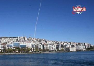 Sinop'ta füze testi gerçekleştirildi
