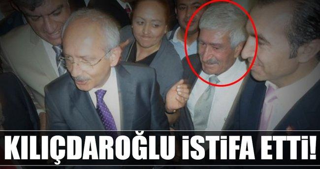 Son dakika: Kılıçdaroğlu CHP'den istifa etti!