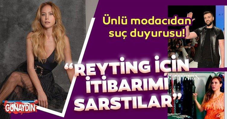 """Ünlülerin modacısı Rufat İsmayil'den suç duyurusu! Rufat İsmayil """"Reyting için itibarımı sarstılar"""""""