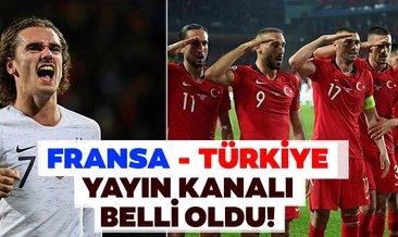 Fransa Türkiye maçı hangi kanalda? Fransa Türkiye maçı ne zaman, saat kaçta başlayacak? İki yıldız kadrodan çıkarıldı