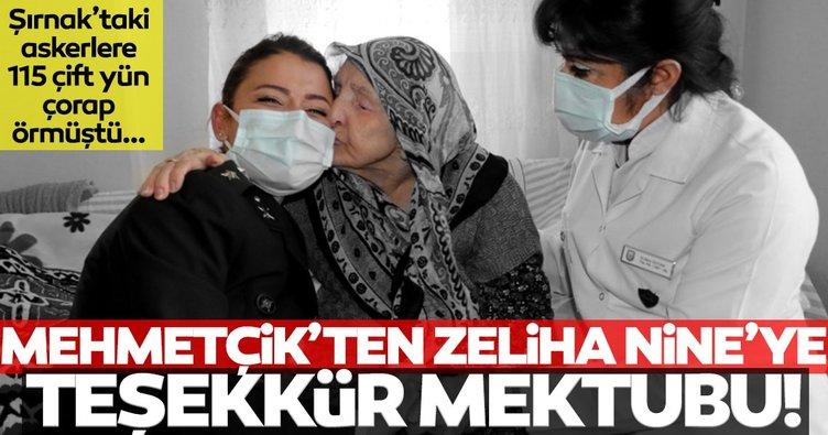 Son dakika: Mehmetçik'ten Zeliha Nine'ye ağlatan mektup!
