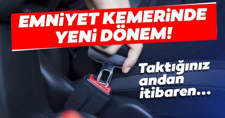 Araç sahipleri dikkat! Emniyet kemerinde yeni dönem başlıyor