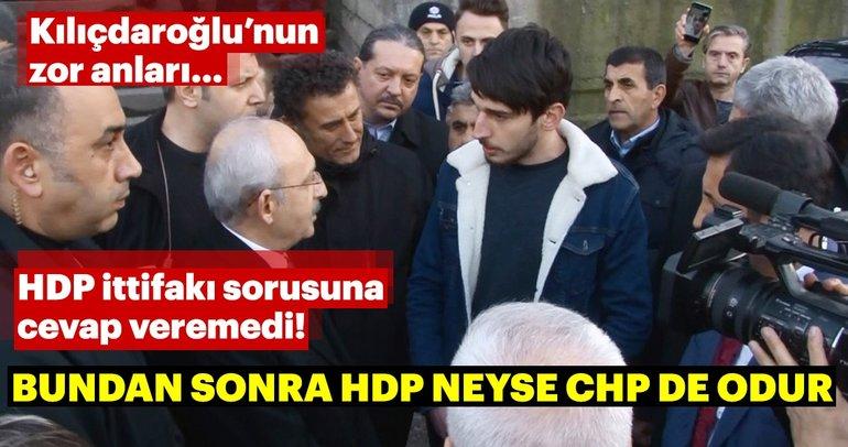 Bir genç Kılıçdaroğlu'na HDP ile ittifakı sordu