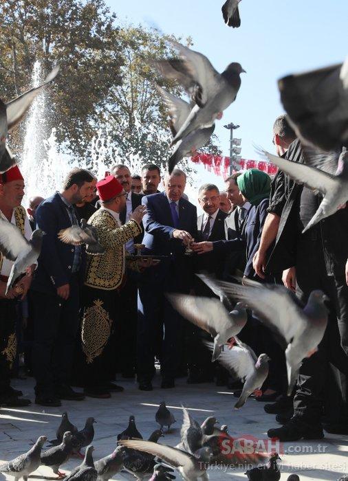 Başkan Erdoğan'a Eyüp Sultan'da sevgi seli