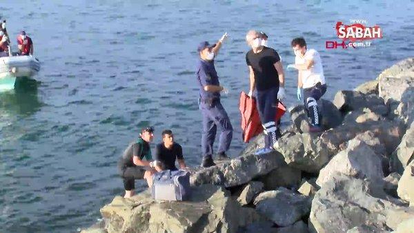 İstanbul Bakırköy'de denizde ceset bulundu| Video