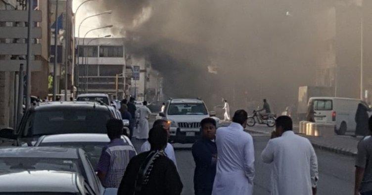 Suudi Arabistan'da patlama: 2 ölü!