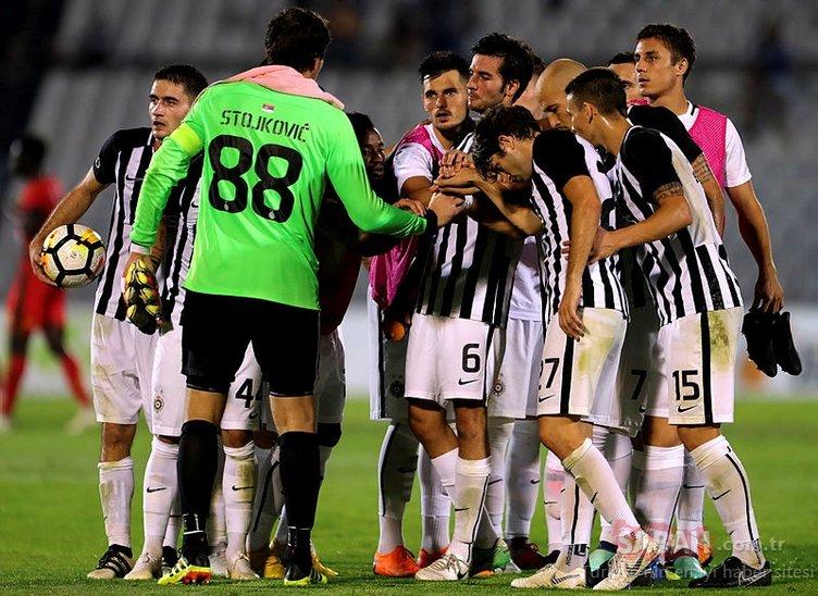 Beşiktaş'ın rakibi Partizan'ı yakından tanıyalım
