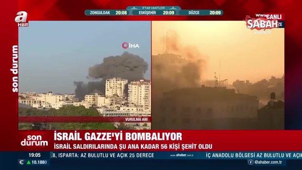 Son Dakika Haberi... İsrail, Gazze'yi bombalamaya devam ediyor   Video