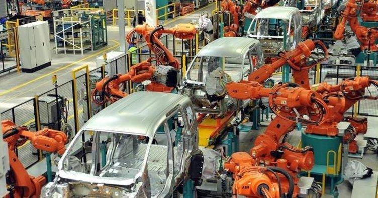 Sanayi kentinde saatte 72 araç üretildi