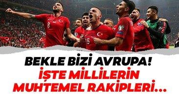 İşte EURO 2020'de Türkiye'nin muhtemel rakipleri! İlkay Gündoğan, Ryan Babel, Harry Kane...