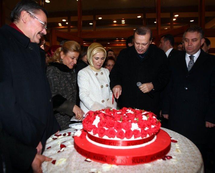 Başbakan'a doğum günü sürprizi