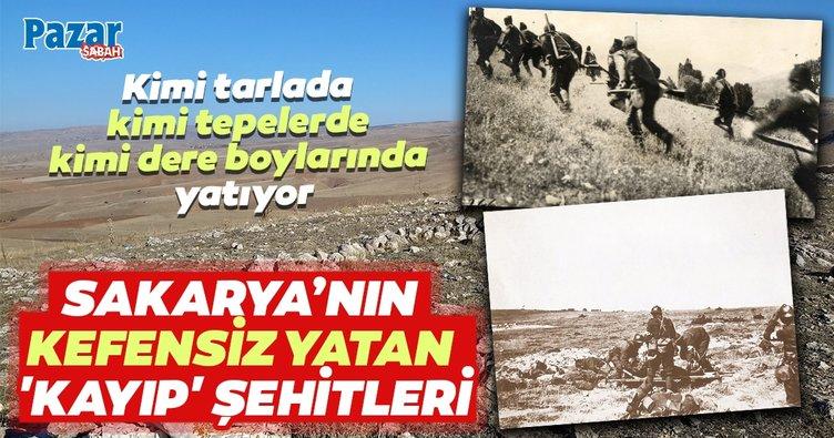 Sakarya'nın 99 yıl boyunca kefensiz yatan kayıp şehitleri