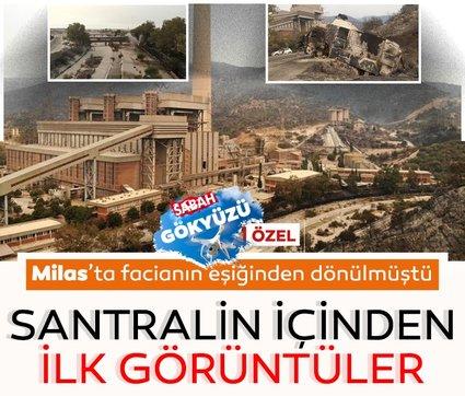 Son dakika haberi: Milas'ta bulunan Kemerköy Termik Santrali'nde facianın eşiğinden dönülmüştü! İşte santralden ilk görüntüler