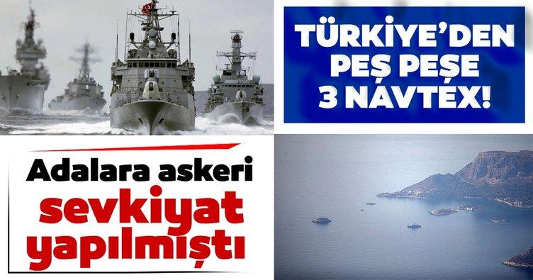 Son dakika: Türkiye'den peş peşe 3 NAVTEX birden!