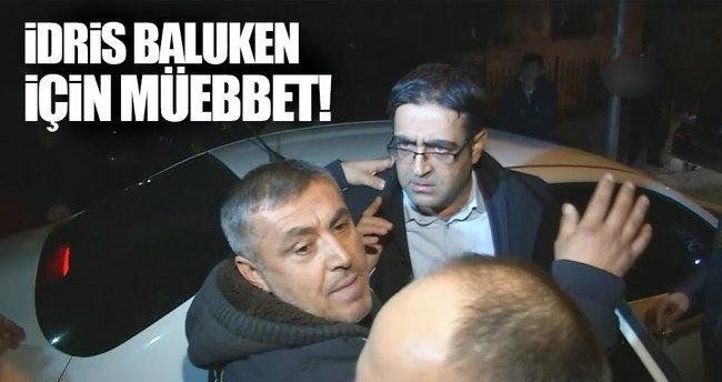 HDP'li İdris Baluken'e müebbet istemi