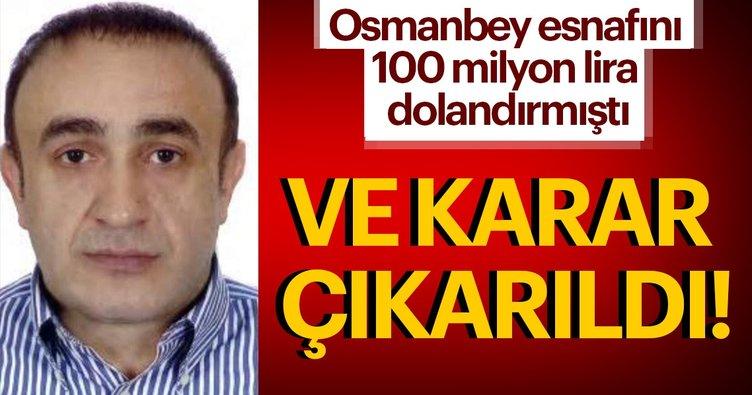 Osmanbey esnafını 100 milyon lira dolandırmıştı! İşlem Döviz'in patronuna yakalama kararı