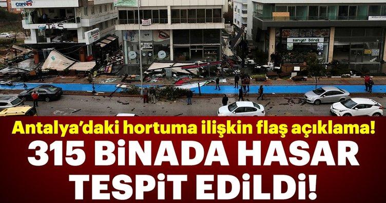 Bakan Kurum'dan Antalya'daki hortuma ilişkin flaş açıklamalar!