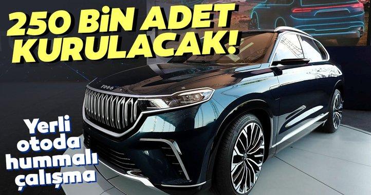 Son dakika | Türkiye'nin yerli otomobil için hummalı çalışma! 250 bin adet kurulacak