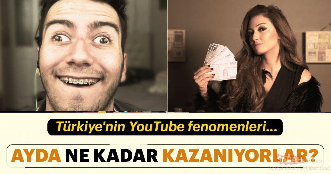 Türkiyenin Youtube Fenomenleri Bir Ayda Ne Kadar Kazanıyor