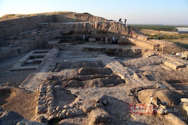 Kilis'te 4 bin yıllık saray kalıntısı bulundu!