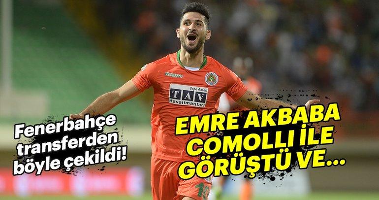 Fenerbahçe, Emre Akbaba transferinden çekildi!