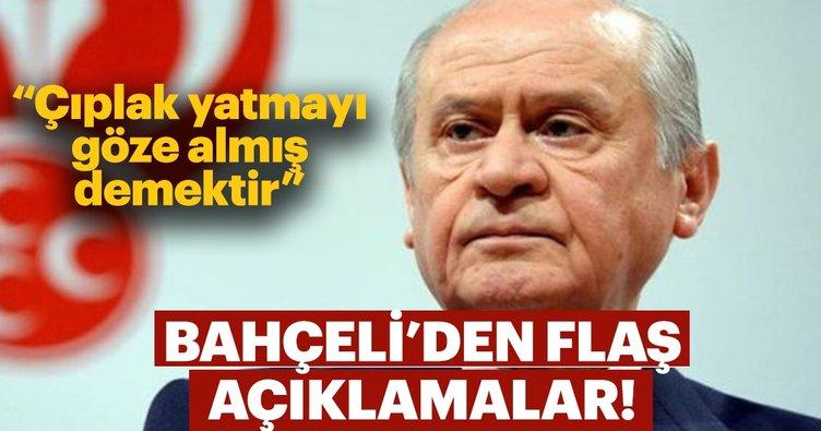 MHP Lideri Bahçeli'den flaş Sarı Yelek açıklaması