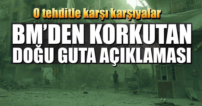 Doğu Guta halkı 'açlıktan ölüm tehdidiyle karşı karşıya'