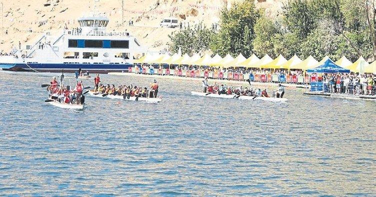 Rumkale'de su sporları festivali için geri sayım