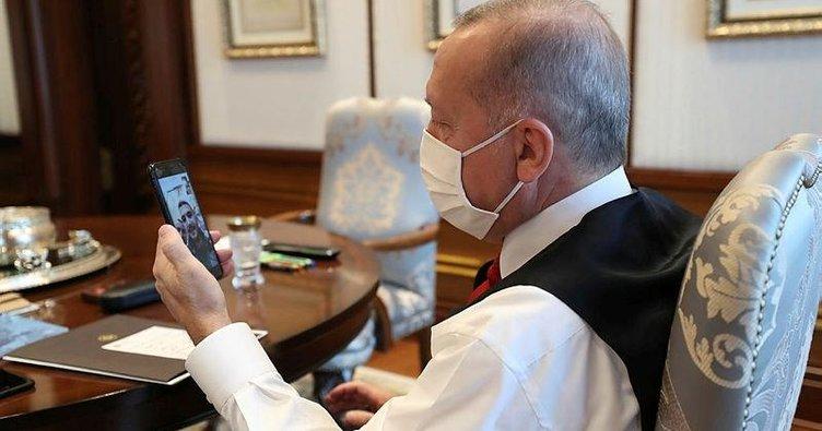 Başkan Erdoğan Gültekin ve Özen'i Külliye'ye davet etti