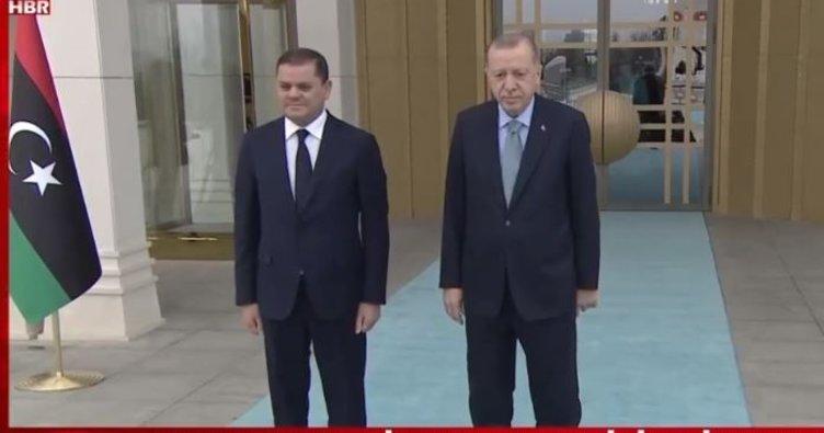 SON DAKİKA: Ankara'da kritik gün! Başkan Erdoğan Libya Başbakanı Dibeybe ile görüşüyor!