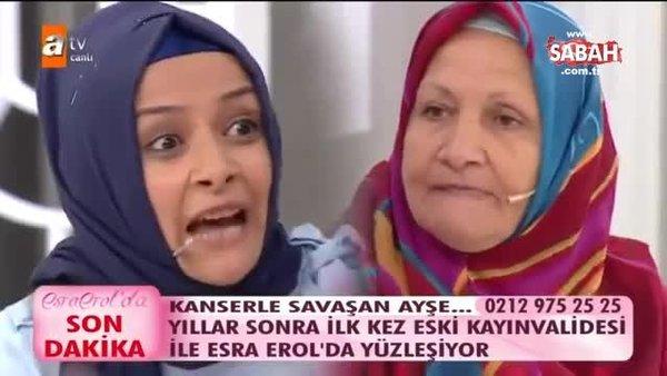 Esra Erol'da yaşanan gelin kaynana kavgası sosyal medyada olay oldu!