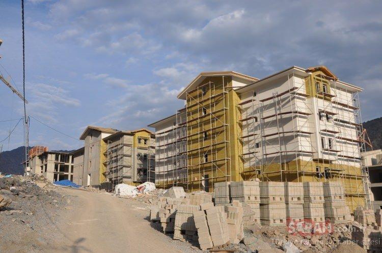 'Yeni Yusufeli' tüm hızıyla inşa ediliyor