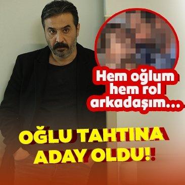 Mustafa Üstündağ oğlu tahtına aday oldu!