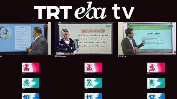 TRT EBA TV Uzaktan Eğitim (31 Mart 2020 Salı) Lise, Ortaokul, İlkokul dersleri canlı yayın izle   Video