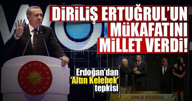 Cumhurbaşkanı Erdoğan'dan Diriliş Ertuğrul yorumu!
