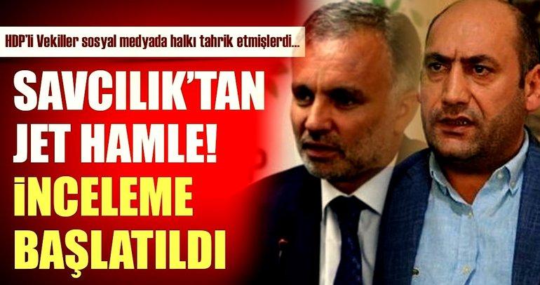 Son dakika: HDP'li 2 vekil hakkında inceleme başlatıldı