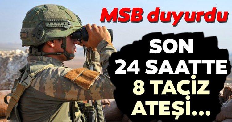 Son Dakika: MSB'den taciz ateşi açıklaması!