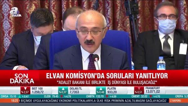 Hazine ve Maliye Bakanı Lütfi Elvan'dan bütçe sunumunda açıklamalar: