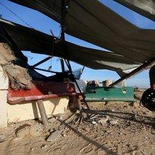 İsrail'in hava saldırısında 2 Filistinli hayatını kaybetti
