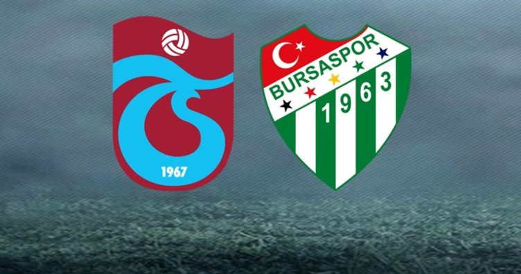 Trabzonspor Bursaspor maçı saat kaçta hangi kanalda?