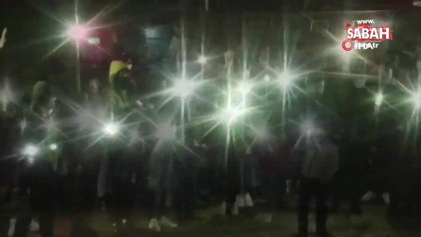 AK Parti Kırşehir Gençlik Kollarından Cumhurbaşkanı Erdoğan'a meşaleli 67. doğum yılı videosu | Video