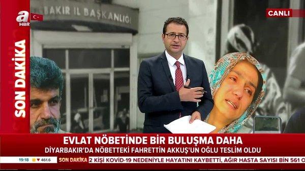 Son dakika!Diyarbakır'daki evlat nöbetinde bir buluşma daha!   Video