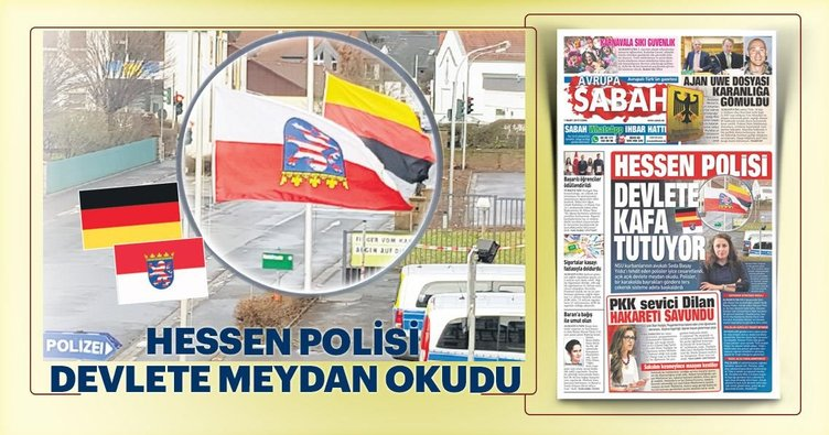 Hessen Polisi devlete kafa tutuyor