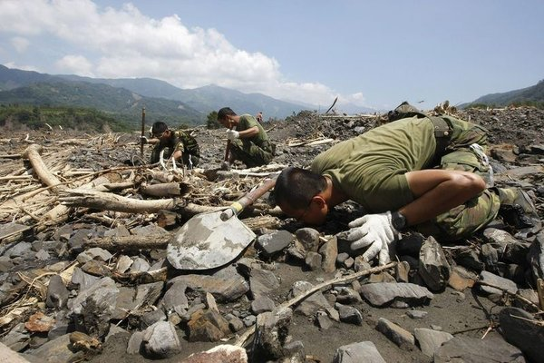 Morakot tayfunu Tayvanı vurdu